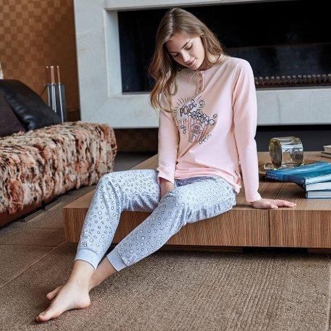 Anıl Uzun Kollu Pijama Takım 9567