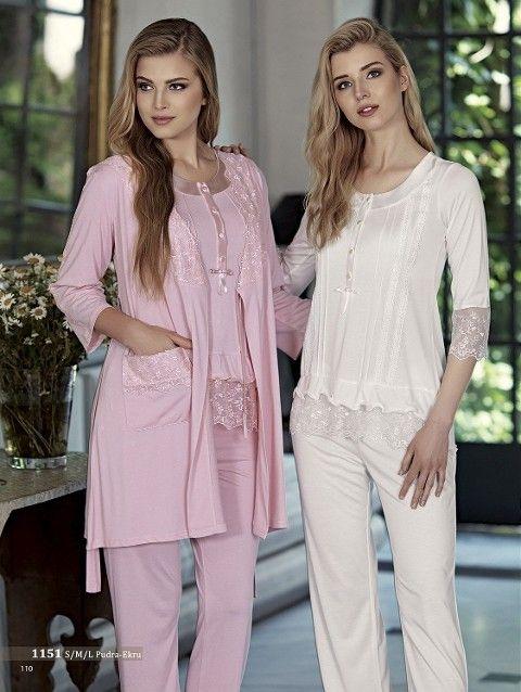 Artış 1151 3 Lü Pijama Takımı
