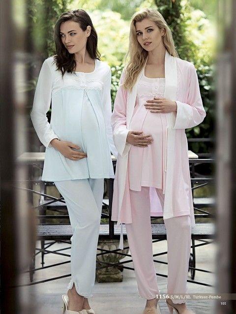 Artış 1156 3 Lü Lohusa Pijama Takımı