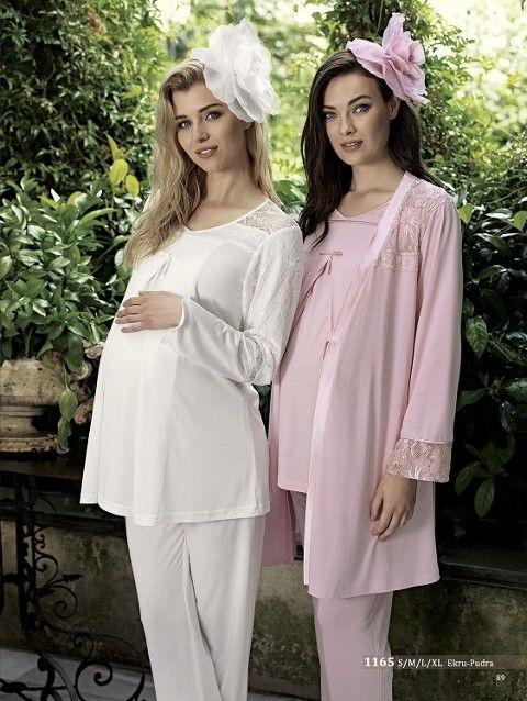Artış 1165 3 Lü Lohusa Pijama Takımı