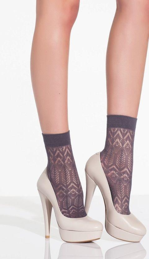 Daymod Asta Desenli Soket Çorap