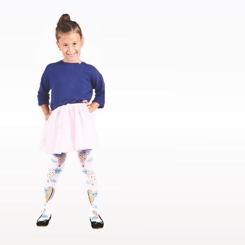 Daymod Baloncuk Çocuk Külotlu Çorap D2125070