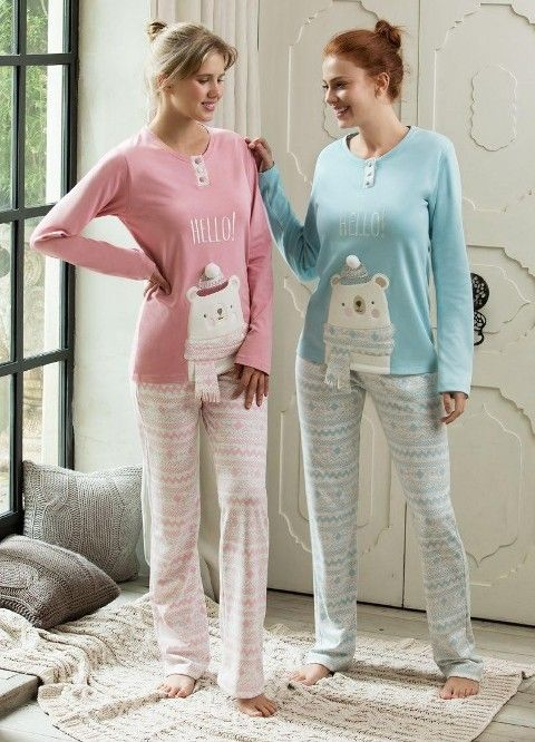 Bayan 2 Li Pijama Takım Feyza 3132