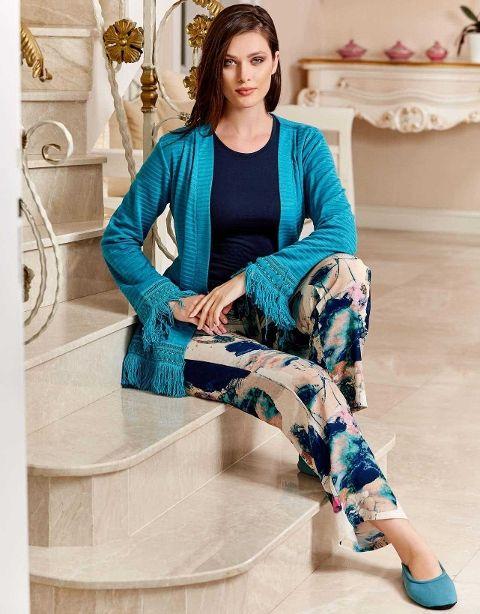 Bayan 3 lü Pijama Takım Dowry 15-124