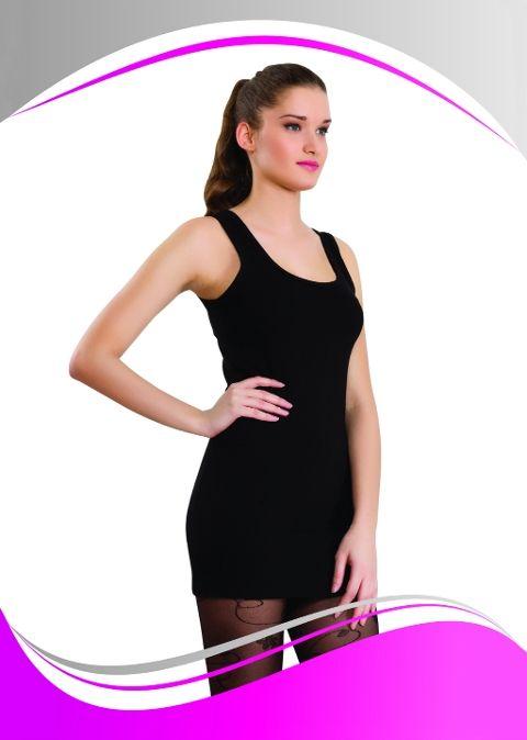 Bayan Kalın Askılı Uzun Atlet Dono 2228