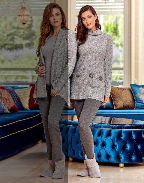 Bayan Pijama Takım Dowry 09-685