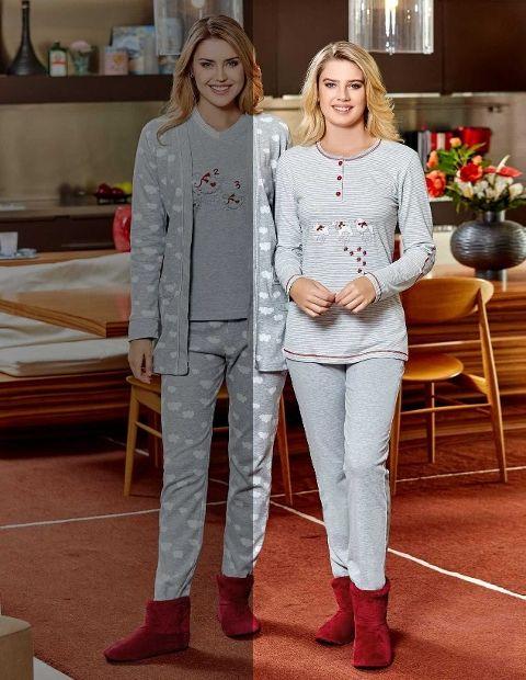 Bayan Pijama Takım Dowry 09-702