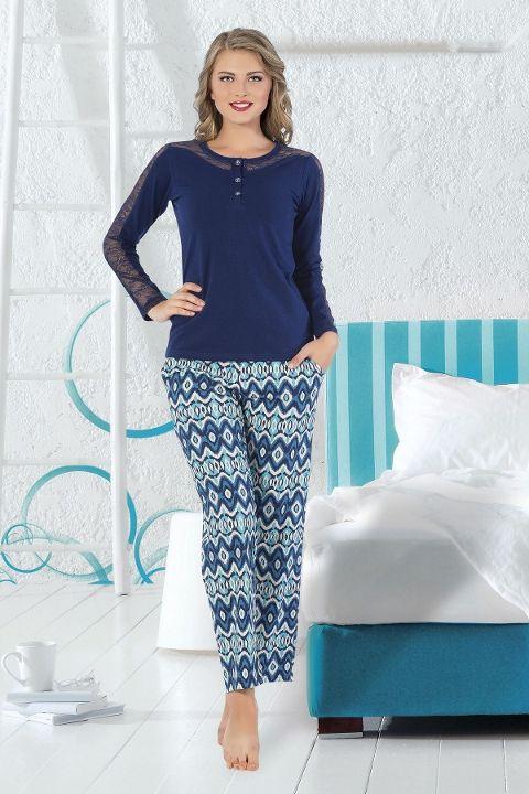 Bayan Pijama Takım Hmd 80079