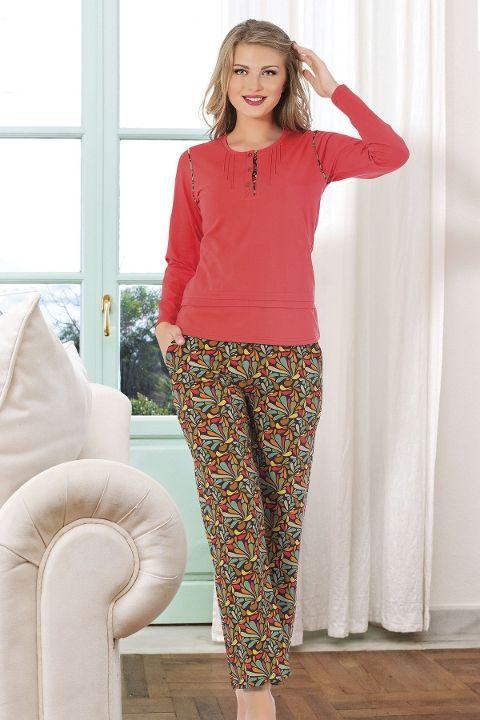 Bayan Pijama Takım Hmd 80080