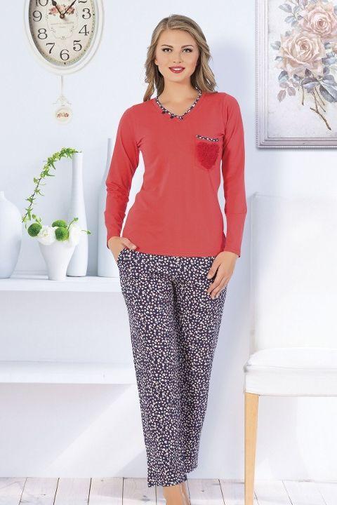 Bayan Pijama Takım Hmd 80082