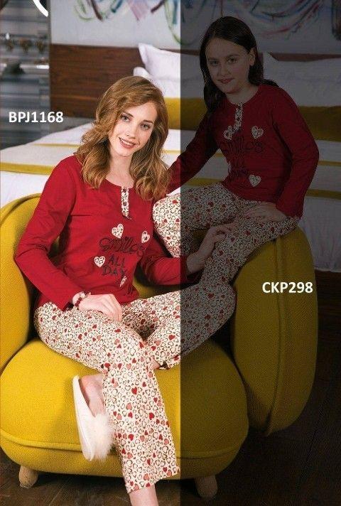 Bayan Pijama Takımı 2 Li Süprem Yeni İnci BPJ1168
