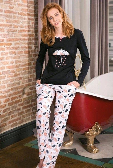Bayan Pijama Takımı 2 Li Süprem Yeni İnci BPJ1186