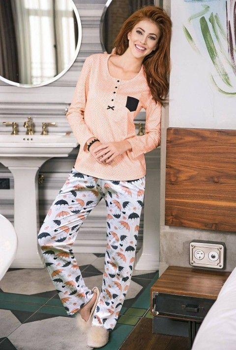 Bayan Pijama Takımı 2 Li Süprem Yeni İnci BPJ1204