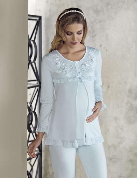 Bayan Pijama Takımı Lohusa Artış 2211