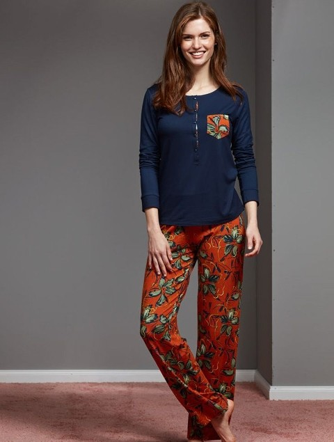 Bayan Pijama Takımı Şık Ve Rahat Catherine's 1141