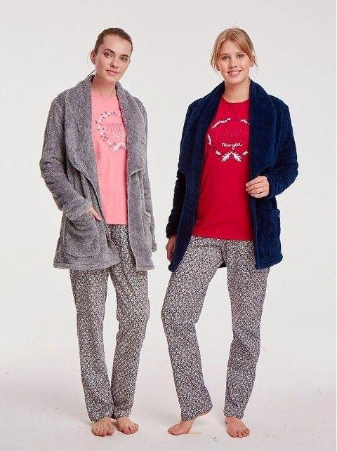 Bayan Polar Pijama Takımı 3 Lü Mod Collection 2017