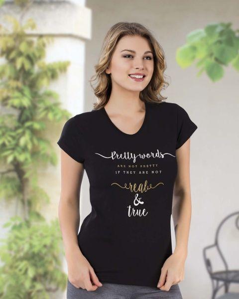 Bayan T-Shirt HMD 9002