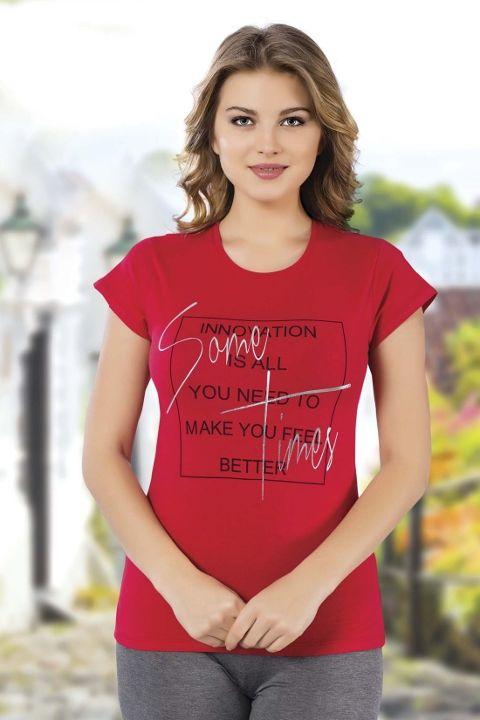 Bayan T-Shirt HMD 9006