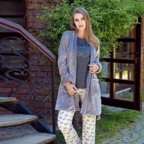 Bayan Uzunkol Pijama Takım Anıl 9471