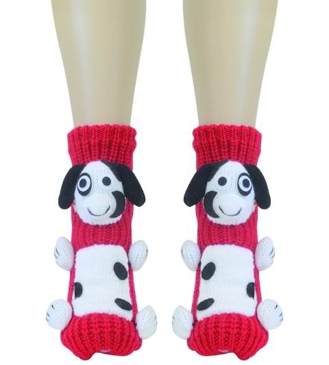 Daymod Benekli Patik Desenli Soket Çorap
