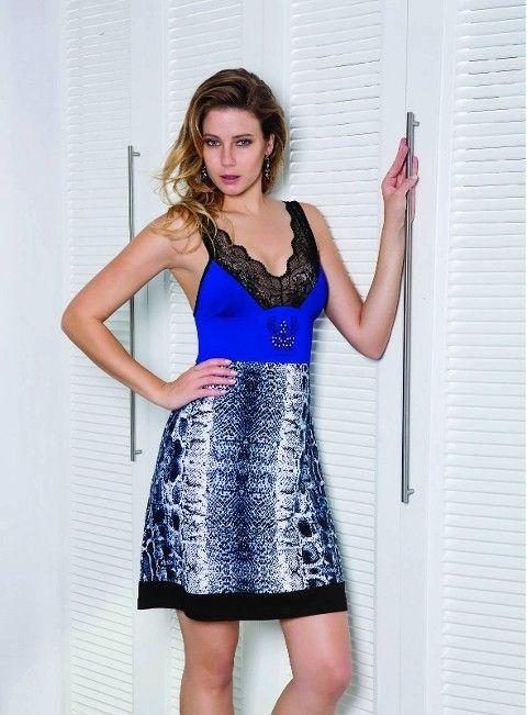 Berrak Bayan Baskılı Elbise 2768