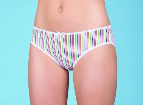 Berrak Bayan Çizgili Bikini 2393