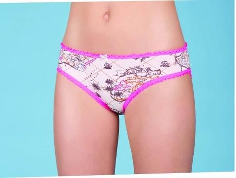Berrak Bayan Harita Desen Bikini 2392
