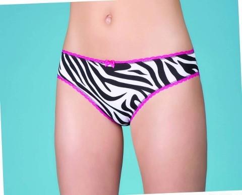Berrak Bayan Zebra Desen Bikini 2362