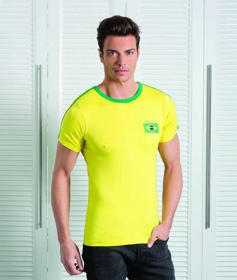 Berrak Erkek Brezilya Tshirt 4001