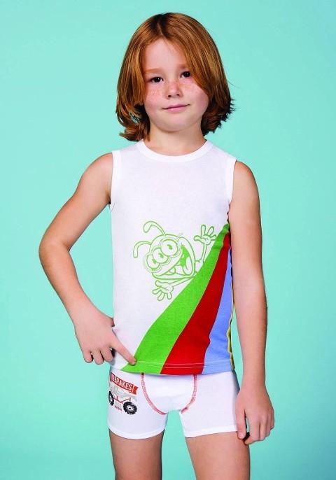 Berrak Erkek Çocuk Kolsuz Atlet 1523