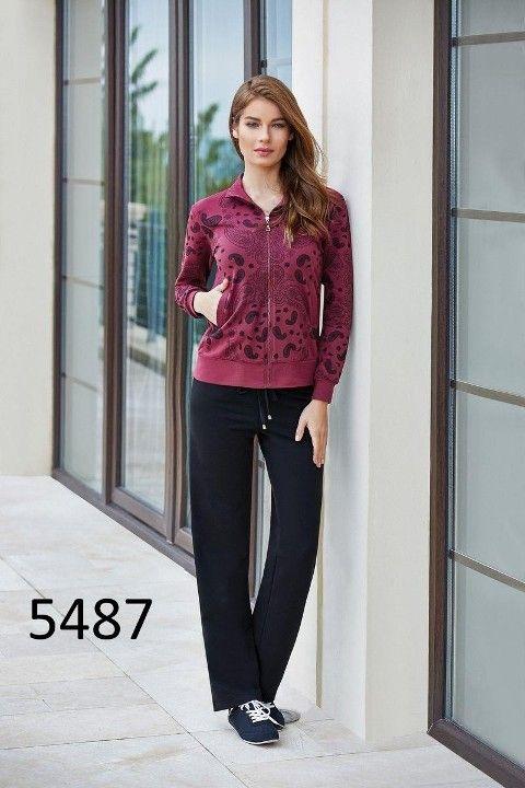 Berrak İki İplik Eşofman Ev Giyim 5487