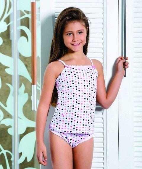Berrak Kız İp Askılı Bikini Takım 6510