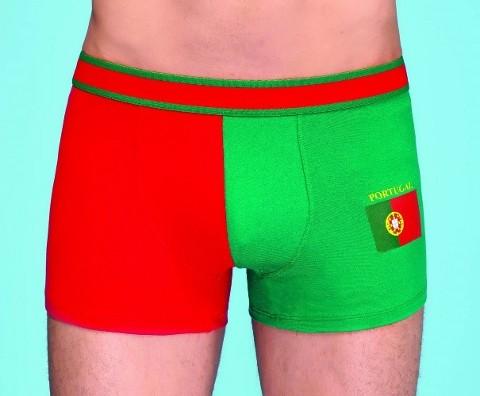 Berrak Likralı Modal Erkek Boxer Şort 1089 Portugal