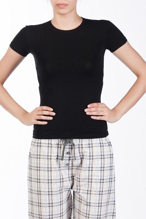 Bayan Kısa Kollu BODY Tişört