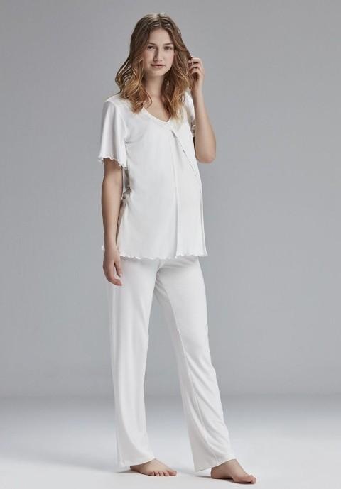 Catherine's 805 Hamile Lohusa Pijama Takım