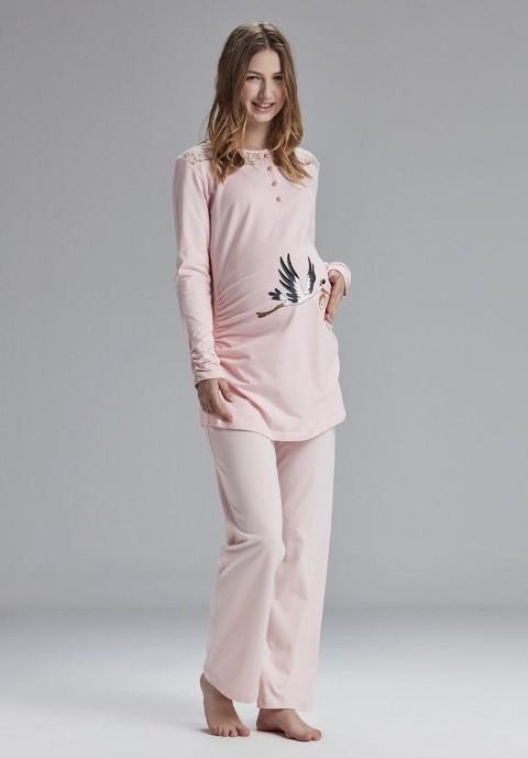 Catherine's 809 Hamile Lohusa Pijama Takım