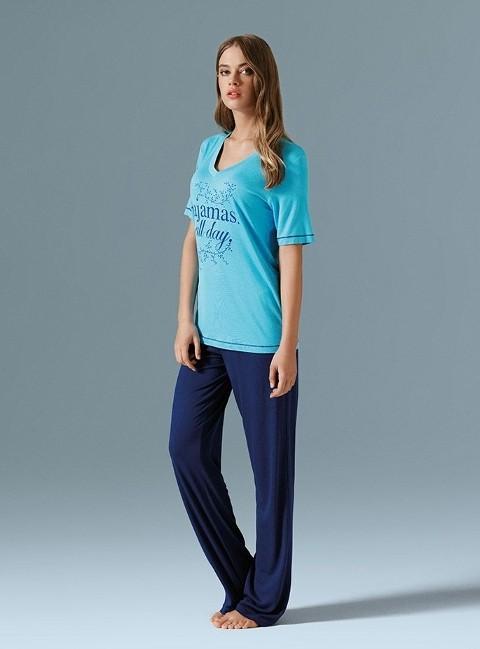 Catherine's All Day Baskılı Bayan Pijama Takımı 580