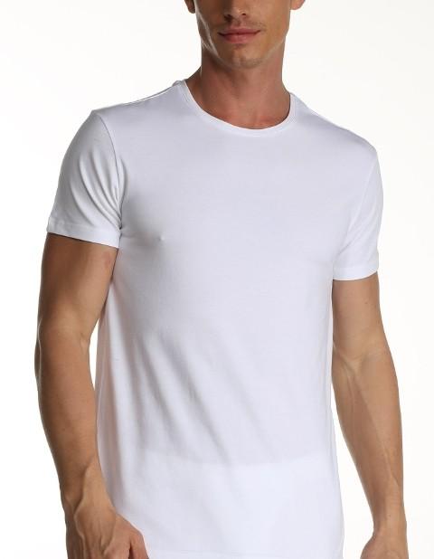 Çift Kaplan Elastanlı T-Shirt 954