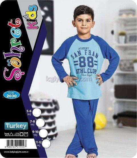 Çocuk Pijama Lady 2030