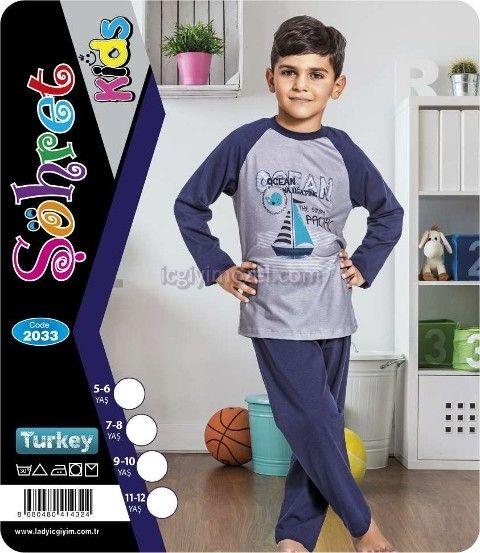 Çocuk Pijama Lady 2033
