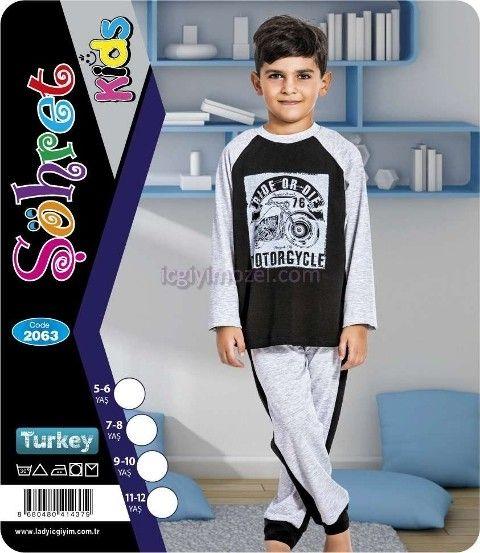 Çocuk Pijama Lady 2063