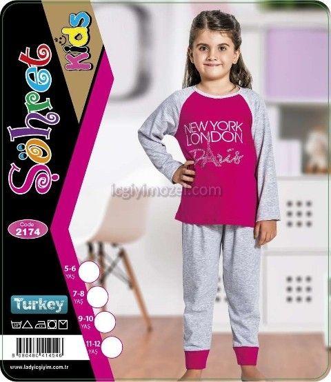 Çocuk Pijama Lady 2174