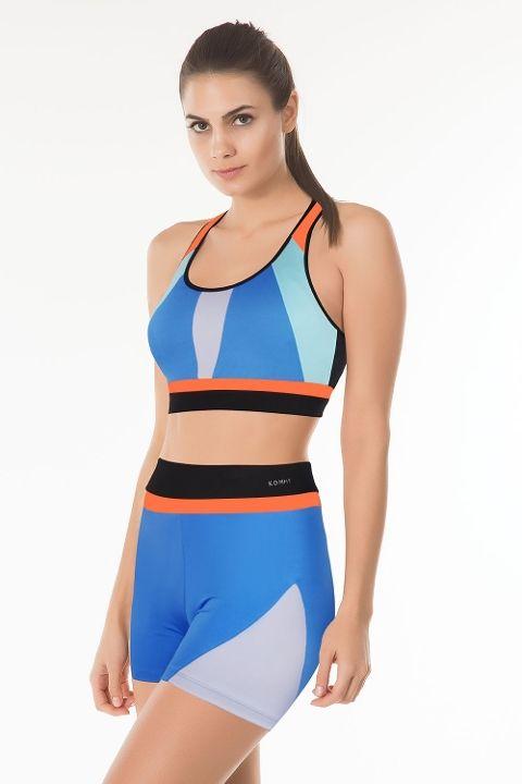 Fitness Sütyen Colorful Büstiyer Kom 41SU75111