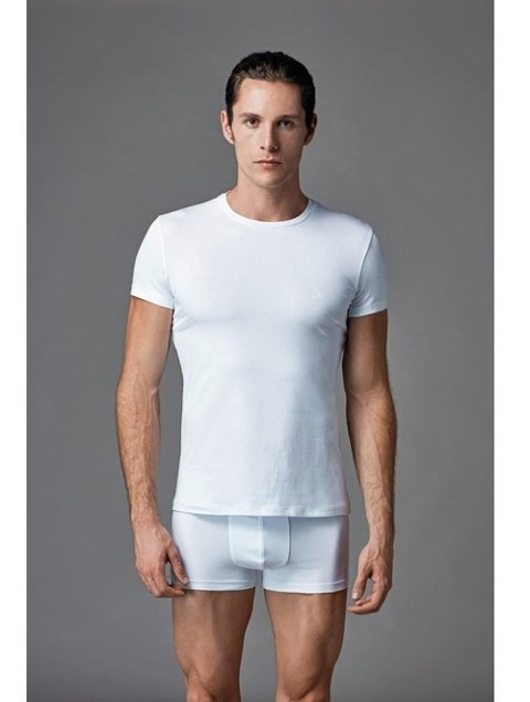 Compact O Yaka T-Shirt 2 li Eros ERS 004
