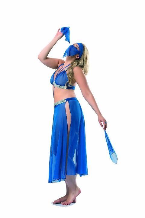 Dansöz Kostümleri Dansöz Kostümü Denizgülü 6077