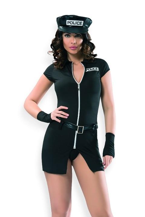 Polis & Asker Kostümleri Denizgülü Sexy Polis Kostümü 6111