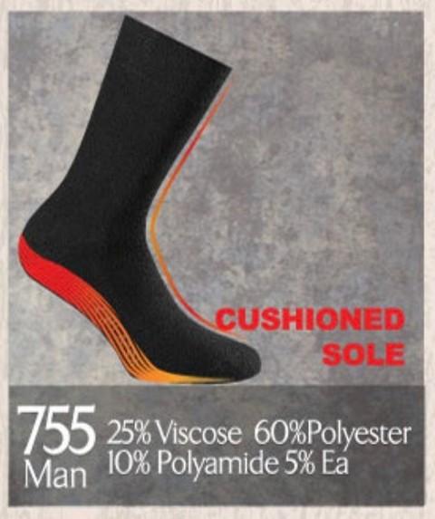 Erkek Termal Çorap - Doreanse 755