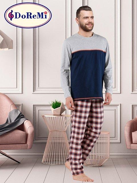 DoReMi Stormy Story Erkek Pijama Takımı