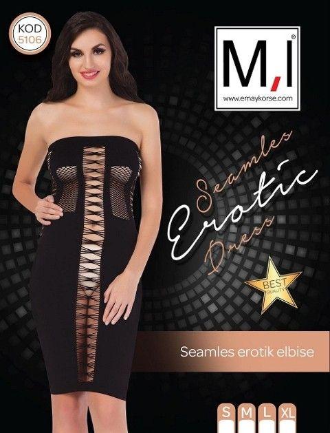 Emay 5106 Dikişsiz Sexy Elbise