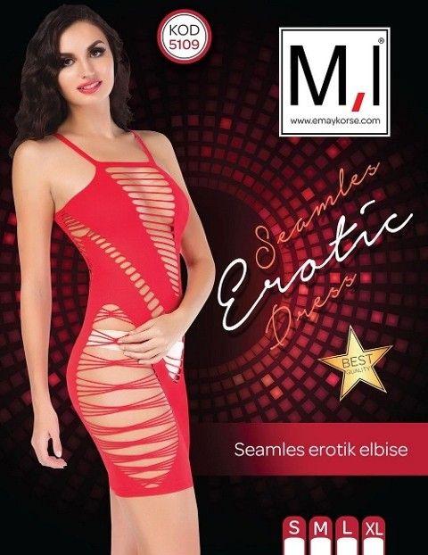 Emay 5109 Dikişsiz Sexy Elbise